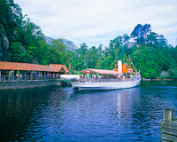 Loch Katrine, The Trossachs, Stirling, Scotland.