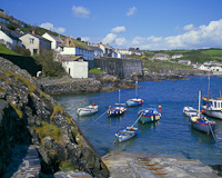 Coverack, The Lizard, Cornwall, England.