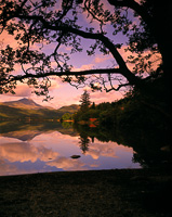 Aberfoyle, Loch Ard, The Trossachs, Stirling, Scotland.