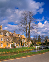 Lower Slaughter, Cotswolds, Gloucestershire, England.