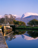 Ben Nevis from Corpach, Fort William, Highland, Scotland.