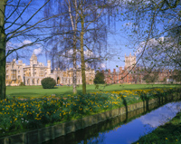 St. John's College, Cambridge, Cambridgeshire, England.