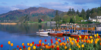 Lake Windermere, Cumbria, England.