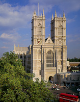 Westminster Abbey, London, England.