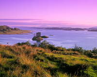 Castle Stalker, Forth of Lorn, Appin, Argyll & Bute, Scotland.
