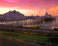 Eastbourne Pier, East Sussex, England.