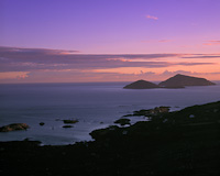 Deenish & Scariff Island, Derrynane Bay, Co. Kerry, Eire.