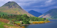 Wast Water, Yewbarrow & Great Gable, Cumbria, England.