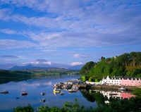 Portree Skye, Scotland.