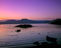 Sound of Sleat from Isleornsay, Skye, Scotland.
