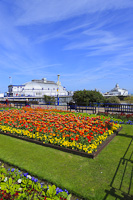 Eastbourne Carpet Gardens, Sussex, England.