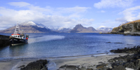 Loch Scavaig & The Cuillins from Elgol, Skye, Scotland.