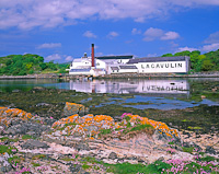 Lagavulin Distillery, Islay, Argyll & Bute, Scotland.