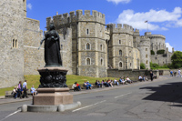 Windsor Castle, Berkshire, England.