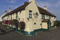 Castle Inn, Pevensey Bay, Sussex, England.