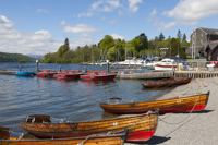 Bowness Bay, Windermere, Cumbria, England.