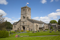 St. Mary's Church, Kirkby Lonsdale, Cumbria, England.