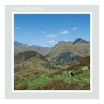 Birthday Card - The Langdale Pikes - inside message reads: Have a Wonderful Day