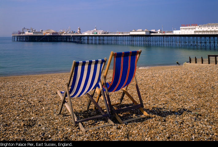 Brighton Palace Pier, East Sussex, Englnad.
