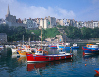 Tenby Harbour, Pembrokeshire, South Wales.