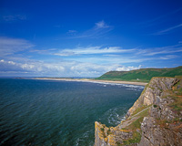 Rhossili Bay, The Gower, Wales.