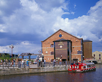 Wigan Pier, Greater Manchester, England.