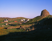 Carloway Broch, Lewis, Outer Hebrides, Scotland.