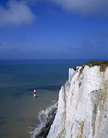 Beachy Head, Eastbourne, East Sussex, England.