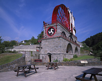 Laxey Wheel, Isle of Man.