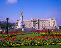 Buckingham Palace, London, England.