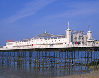 Brighton Palace Pier, East Sussex, England.