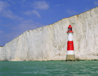 Beachy Head, Nr Eastbourne, Sussex, England.