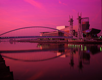 The Lowry, Salford Quays, Manchester, England (2003).