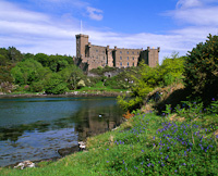 Dunvegan Castle, Skye, Scotland.