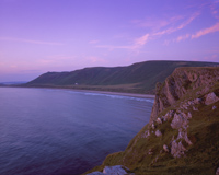 Rhossili Bay, The Gower, Swansea, South Wales.