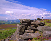 Stanage Edge, Derbyshire, England.