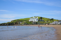 Burgh Island, Bigbury-on-Sea, Devon, England.
