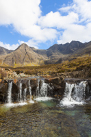 The Fairy Pools & The Cuillins, Glen Brittle, Skye, Scotland.