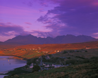 Loch Harport & The Cuillins from Carbost, Skye, Scotland.