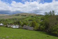 Troutbeck & Sallows from Robin Lane, Windermere, Cumbria, England.