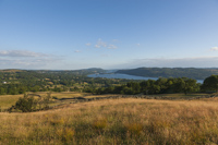 Windermere from Robin Lane, Troutbeck, Cumbria, England.