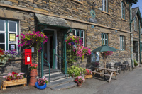 The Old Post Office Tea Room, Troutbeck, Windermere, Cumbria, England.