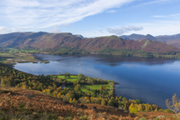 Derwent Water, Cat Bells & Maiden Moor, Cumbria, England.