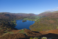 Grasmere from Loughrigg, Cumbria, England.