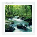 Sympathy card-woodland glen-message inside reads: thinking of you at this very sad time.
