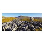 Yorkshire greeting card - Ingleborough from Twistleton Scars - blank for your own message