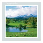 Birthday Card - Wetherlam and River Brathay