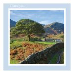 Thank You card - Country Life - left blank for your own message