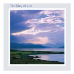 Thinking of You card - Sublimity - left blank inside for your own message