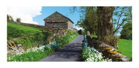 Cumbria greeting card - Troutbeck - blank for your own message